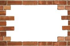 Struttura della priorità bassa del muro di mattoni Fotografia Stock