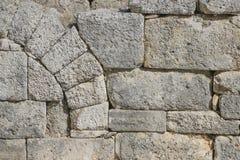 Struttura della priorità bassa della parete di pietra Immagini Stock