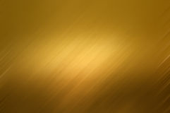 Struttura della priorità bassa del metallo dell'oro Immagine Stock Libera da Diritti