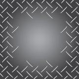 Struttura della punta del metallo su grey Fotografia Stock Libera da Diritti