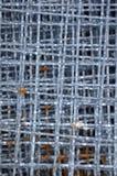 Struttura della rete del filo di acciaio Immagine Stock