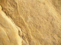 Struttura della roccia dell'oro Fotografia Stock Libera da Diritti