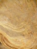 Struttura della roccia dell'oro Fotografia Stock