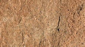 Struttura della roccia di Brown Fotografie Stock Libere da Diritti