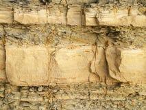 Struttura della roccia scistosa Immagini Stock