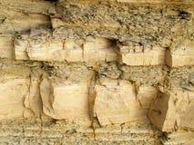 Struttura della roccia scistosa Fotografie Stock