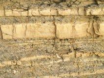 Struttura della roccia scistosa Immagini Stock Libere da Diritti