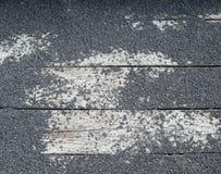 Struttura della roccia sulla stecca di legno Immagine Stock Libera da Diritti