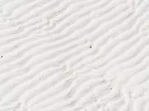Struttura della sabbia, bande modello e fondo Fotografia Stock