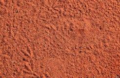 Struttura della sabbia del deserto australiano fotografie stock libere da diritti
