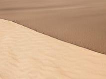 Struttura della sabbia di contrasto Immagini Stock Libere da Diritti