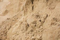 Struttura della sabbia, fondo della sabbia Immagini Stock