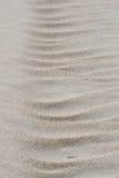 Struttura della sabbia formata vento Immagini Stock