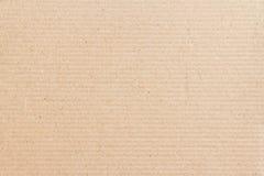 Struttura della scatola di carta di Brown Immagine Stock
