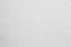 Struttura della schiuma della schiuma di stirolo del polistirolo Immagine Stock