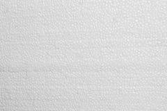 Struttura della schiuma della schiuma di stirolo del polistirolo Fotografia Stock Libera da Diritti