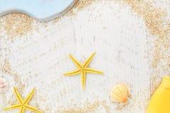 Struttura della spiaggia di festa Immagini Stock Libere da Diritti