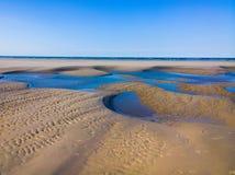 Struttura della spiaggia di Langeoog Immagine Stock