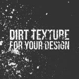 Struttura della sporcizia per la vostra progettazione illustrazione di stock