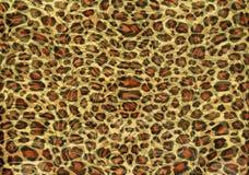 Struttura della stampa del leopardo Immagini Stock Libere da Diritti