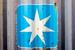 Struttura della stella Fotografie Stock Libere da Diritti