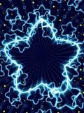 Struttura della stella del fiore illustrazione vettoriale