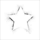 Struttura della stella di lerciume illustrazione vettoriale