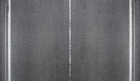 Struttura della strada asfaltata con le linee della marcatura Immagini Stock Libere da Diritti