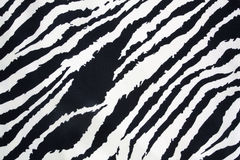 Struttura della striscia della zebra Fotografia Stock