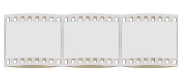 struttura della striscia di pellicola di 35mm Fotografie Stock