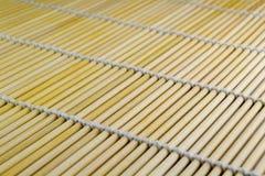 Struttura della stuoia dei sushi immagine stock libera da diritti