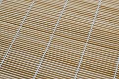 Struttura della stuoia di bambù Fotografia Stock Libera da Diritti