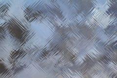 Struttura della superficie della parete di vetro Immagini Stock