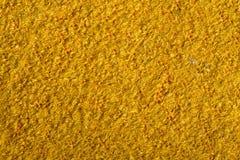 Struttura della superficie gialla con un pelo nell'alta definizione Immagini Stock Libere da Diritti