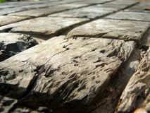 Struttura della tavola di legno naturale Immagine Stock Libera da Diritti