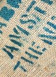 Struttura della tela di canapa Immagine Stock