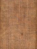 Struttura della tela di canapa Fotografie Stock