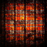 Struttura della tela di canapa del tessuto di Grunge Fotografie Stock Libere da Diritti