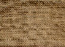 Struttura della tela di canapa di tela Immagini Stock Libere da Diritti