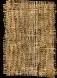 Struttura della tela di sacco Fotografia Stock