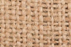 Struttura della tela di sacco Immagine Stock