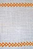 Struttura della tessile del hennè Fotografia Stock