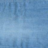 Struttura delle blue jeans. Fotografia Stock