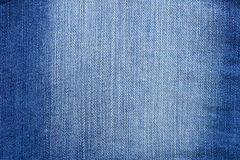 Struttura delle blue jeans fotografie stock