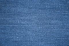 Struttura delle blue jeans Fotografia Stock