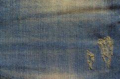 Struttura delle blue jeans Immagine Stock Libera da Diritti