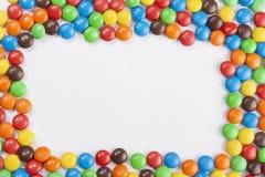 Struttura delle caramelle di cioccolato Immagini Stock