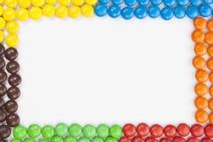 Struttura delle caramelle di cioccolato Immagine Stock