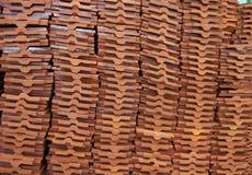 Struttura delle mattonelle Fotografie Stock