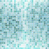 Struttura delle mattonelle del mattone del mosaico illustrazione di stock
